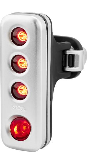Knog Blinder Road R70 Fietsverlichting rode LED zilver